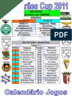 Guimarães Cup 2011 - Calendário Jogos Infantis