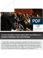 El sector aeronáutico del país registra daños irreversibles por la situación Mexicana
