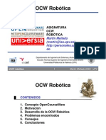 OCW Robotica Martin Mellado
