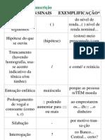 Normas para Transcriçã1
