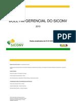 Boletim Gerencial SICONV 2010-1