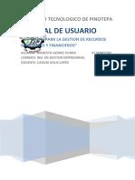 Manual de Usuario Software Openerp