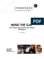 Mind the Gender Gap August 2005
