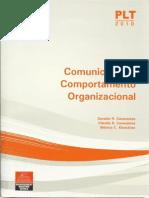 PLT Anhanguera - Comunicação e Comportamento Organizacional - Caps 1, 2 e 3