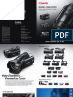 Canon Digital Camcorder 2011 Product Guide