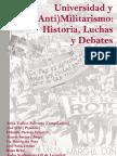 Universidad y (Anti)militarismo