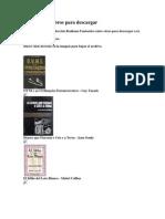 Coleccin de Libros Para Descargar
