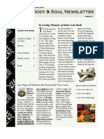 Body and Soul Newsletter June 2011