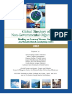 Global Oceans NGO Directory