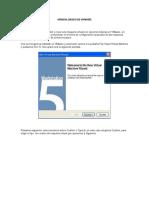 Procedimiento de Instalacion Vmware