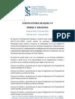 Convocatoria Veedurías Registradores de la Propiedad Siera-Amazonia 19