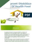 El Verdadero Anuncio rio  RESATAURANT DIETETICO..... HOME OF HEALTH FOOD