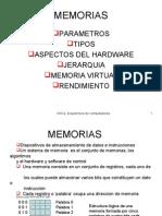 ARQUITECTURA - MEMORIAS