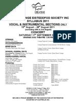 Syllabus 2011 Vocal&Instrumental