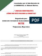 Doc. Jornada Remunerativa SUTE (Presentación CORMUVAL)