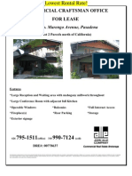 547 S. Marengo Avenue, Pasadena | for Lease