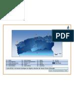 carteN°(02).les bassins hydriques en Algérie, situation du  bassin d'oum el bouaghi