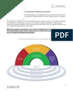 C21 Framework Definitions 052909