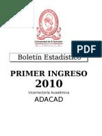 BoletinNvoIngreso2010