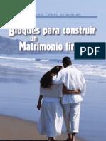 Bloques Matrimonio