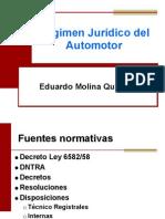 Regimen Juridico Automotor