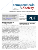 Pharmaceuticals and Society 20-Sep-2010