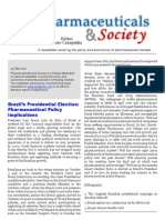 Pharmaceuticals and Society 14-Jul-2010