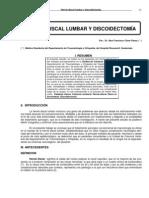 Hernias de Disco Lumbar