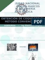 OBTENCIÓN DEL COQUE POR EL MÉTODO CONVENCIONAL