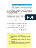 Termodinamika (modul, soal and solusi)