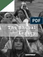The Bhopal Legacy