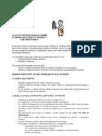 RIESGO ELECTRICO. UNIVERSIDAD DE COMILLAS