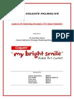 market segmentation of colgate toothpaste