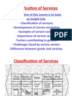 Classification of Services. Ch.2