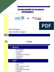 Analyse de deux portails de ressources pédagogiques