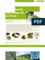 Hemp Seeds and Hemp Oil as Food EIHA EIHA
