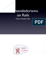 Empreendedorismo on Rails