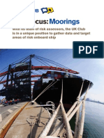 Mooring Risk Focus and Risk Assessment(1)