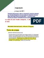 Noticias uruguayas 20 mayo 2011