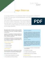 RIESGO ELECTRICO. DOCUMENTO DE LA CAJA ART. SL.