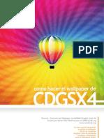 Tutorial Wallpaper CorelDRAW x4