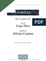 La Wally - Libretto d'Opera