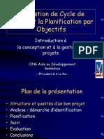 Planification Par Objectif