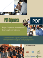 Systematization of support in policy making on the development of local suppliers among large purchases