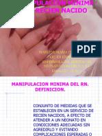 Manipulacion Minima Del Recien Nacido