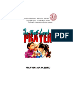 The Next Level Prayer by Marvin Marcelino
