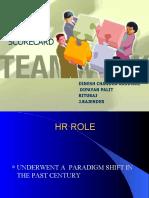 Hr Scorecard Presentation