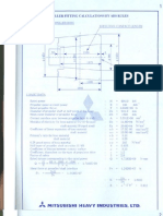 Calculation Sheet of Propeller Fiting According to Abs Rule