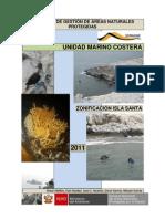 Documento de Gestion Zonificacion Isla Santa APROBADO POR RP Nº41-2011-SERNANP del 16 marzo 2011
