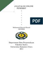 Tugas Katalog Online Penerbit